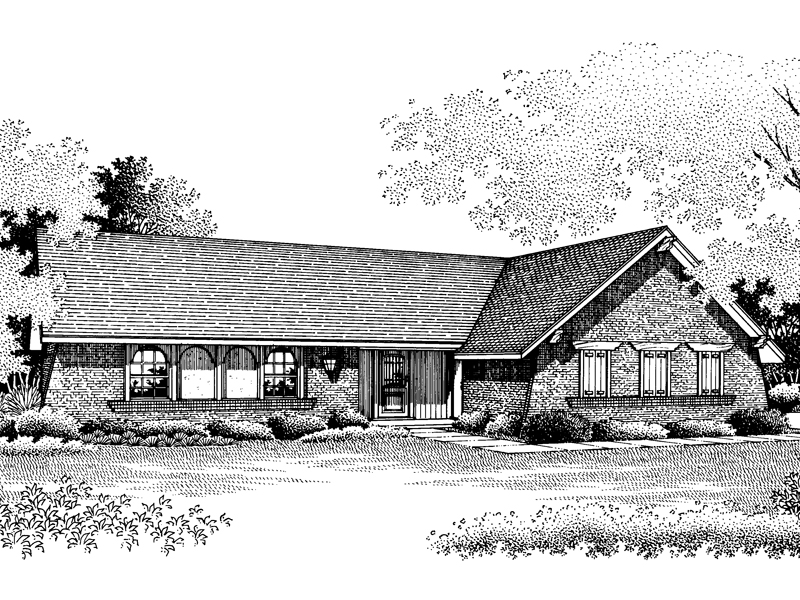 Country House Plan Front of Home - 020D-0089 | House Plans and More