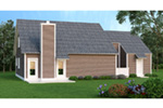 Traditional House Plan Rear Photo 01 - 020D-0122 | House Plans and More