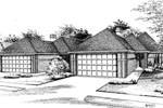 Traditional Multi-Family Style Plan