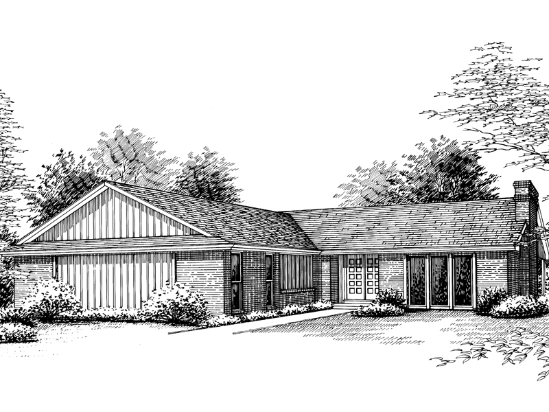 Spacious Ranch With Soothing Appeal