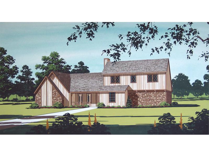 Unique Tudor Style With Farmhome Design