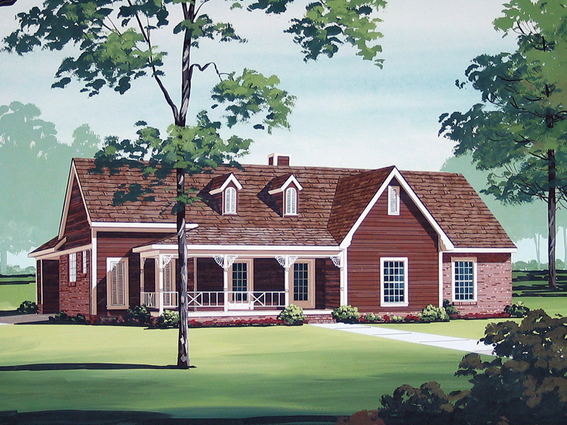 Ranch Plan With Inviting Country Qualities