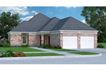 Traditional House Plan Front of Home - 020D-0186 | House Plans and More