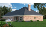 Tudor House Plan Rear Photo 01 - 020D-0186 | House Plans and More