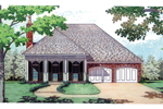 Plantation House Plan Front Image - 020D-0195 | House Plans and More
