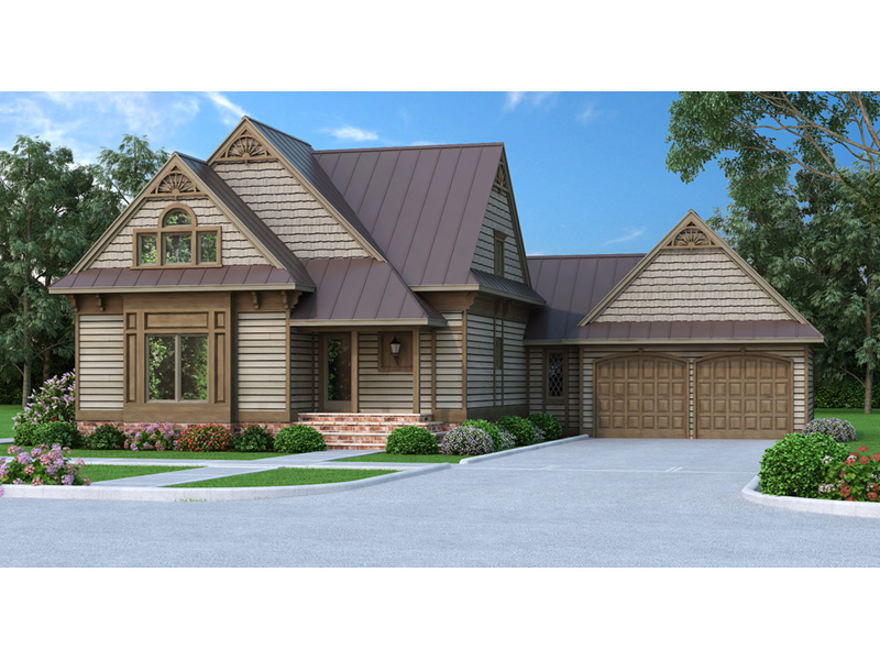 Craftsman House Plan Front Photo 01 - 020D-0196 | House Plans and More