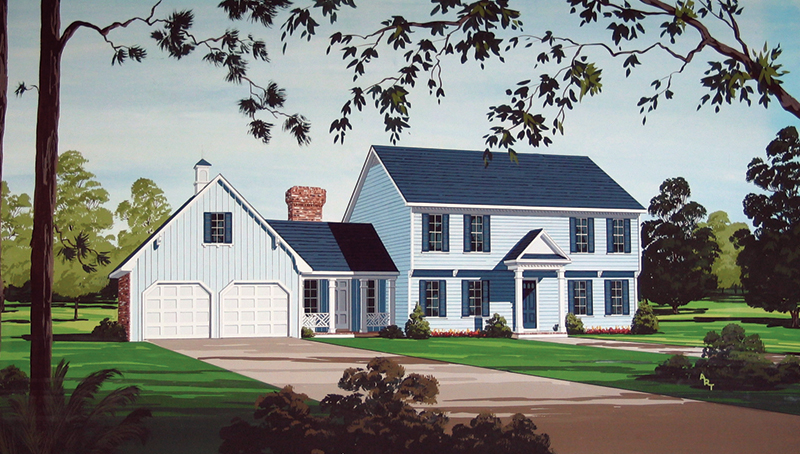 Southern House Plan Front of Home - 020D-0221 | House Plans and More