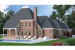 Southern House Plan Rear Photo 01 - 020D-0236 | House Plans and More