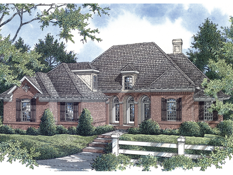 Bungalow House Plan Front of Home - 020D-0241 | House Plans and More
