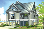 Arts & Crafts House Plan Front Photo 01 - 020D-0250 | House Plans and More