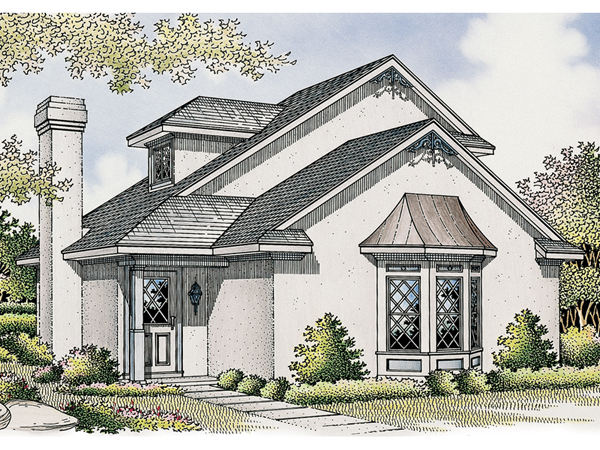Inglenook English Cottage Home Plan 020d 0253 House