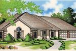 Sleek Stucco Ranch With Corner Decorative Quoins