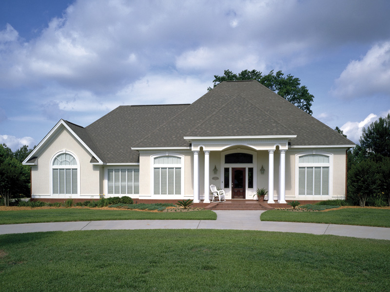 Sunbelt Home Plan Front Photo 01 020D-0266