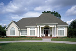 Florida House Plan Front Photo 01 - 020D-0266 | House Plans and More