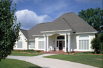 Sunbelt Home Plan Front Photo 02 - 020D-0266 | House Plans and More