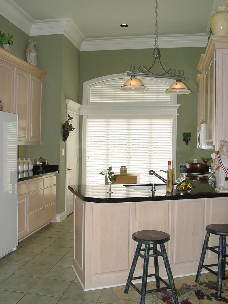 European House Plan Kitchen Photo 02 020D-0266