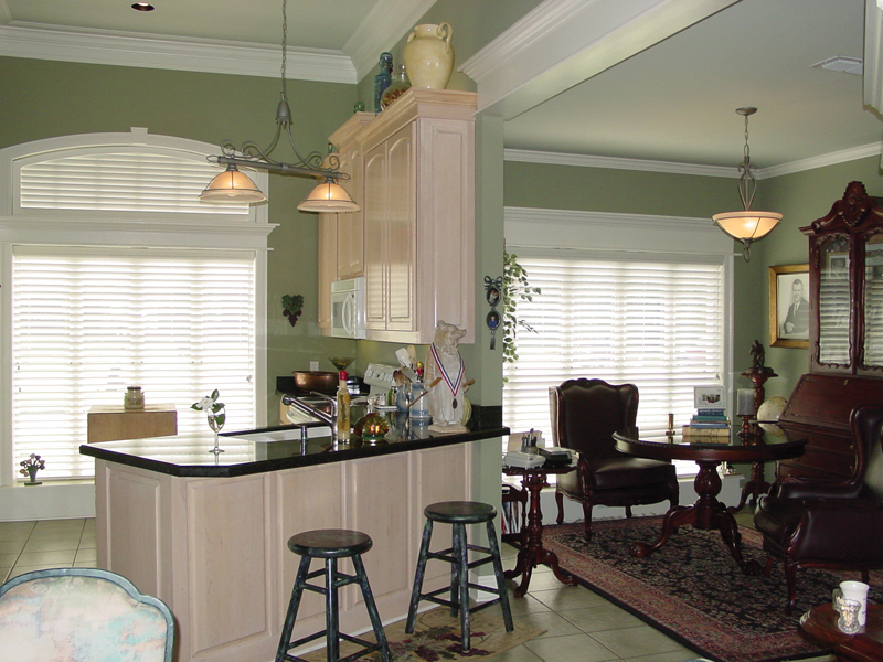 Ranch House Plan Kitchen Photo 03 020D-0266
