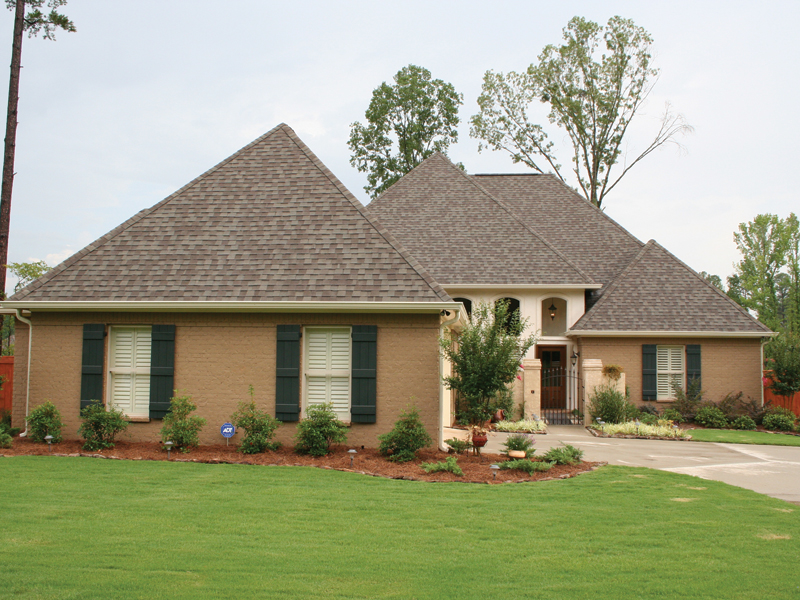 European House Plan Front Photo 01 020D-0295