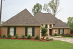 Country French House Plan Front Photo 01 - 020D-0295 | House Plans and More