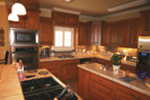Country French Home Plan Kitchen Photo 01 - 020D-0295 | House Plans and More