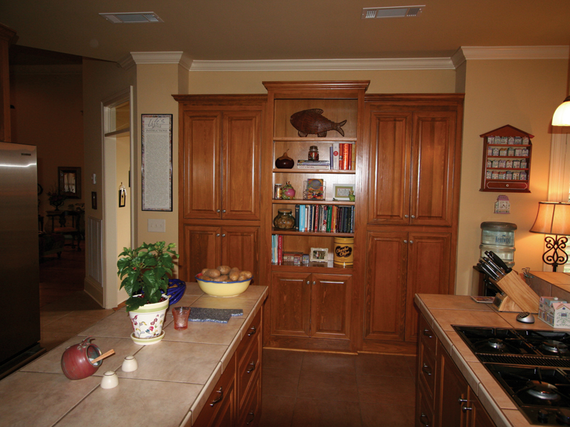 Country French Home Plan Kitchen Photo 03 020D-0295