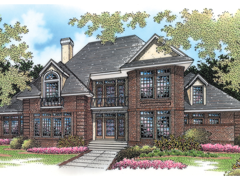 Southern House Plan Front of Home - 020D-0307 | House Plans and More
