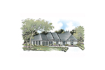 Multiple Roof Lines Add European Style To This Ranch