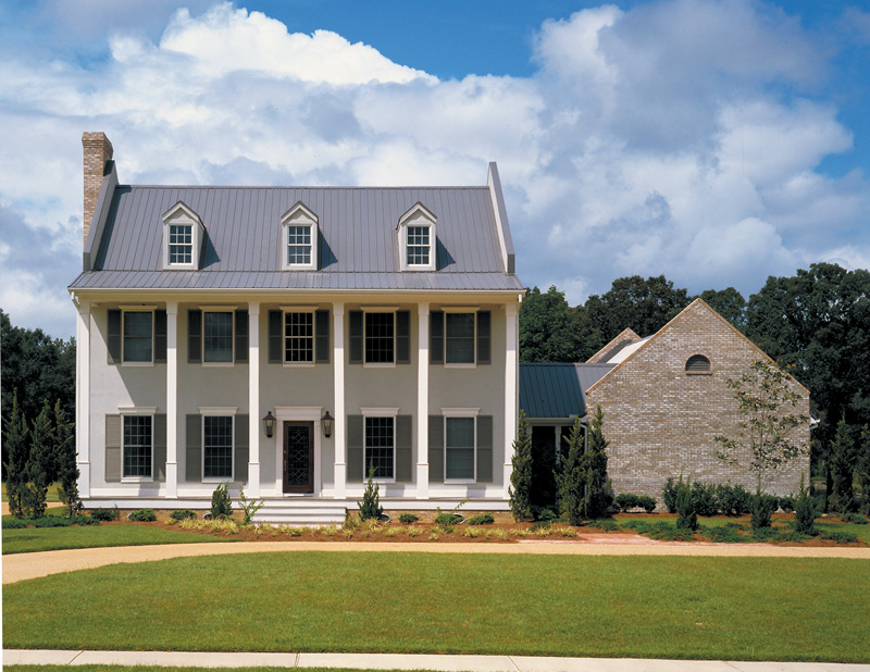 st. george colonial home plan 020d-0309 | house plans and more