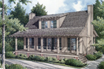 Rustic Bungalow Style Home