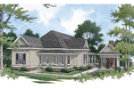 Modest Ranch Style Home Plan