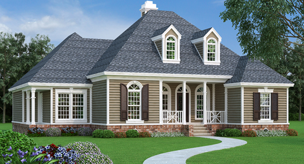 Dyson southern home plan 020d 0345 house plans and more for Pictures of new england style homes