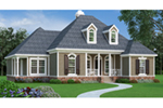 Traditional House Plan Front of Home - 020D-0345 | House Plans and More