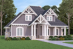 European House Plan Front of Home - 020D-0346 | House Plans and More