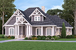 English Cottage House Plan Front Photo 01 - 020D-0346 | House Plans and More