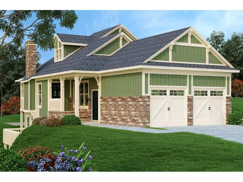 Traditional House Plan Front Photo 01 - 020D-0350 | House Plans and More