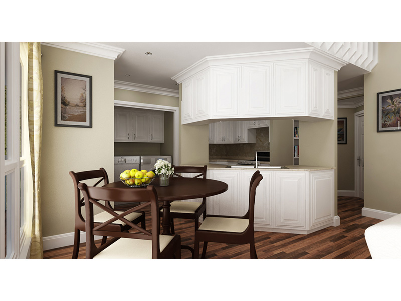 Traditional House Plan Kitchen Photo 01 - 020D-0350 | House Plans and More