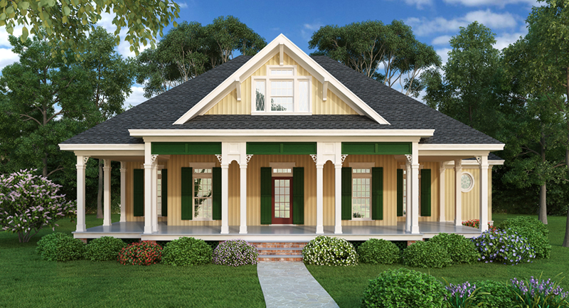Arts & Crafts House Plan Front of Home - 020D-0363 | House Plans and More