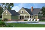 Country House Plan Rear Photo 01 - 020D-0365 | House Plans and More