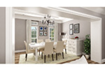 Ranch House Plan Dining Room Photo 01 -  020D-0389   House Plans and More