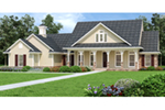 Ranch House Plan Front of Home -  020D-0389   House Plans and More