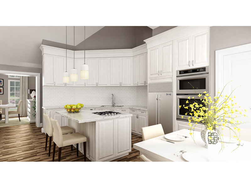 Ranch House Plan Kitchen Photo 01 -  020D-0389   House Plans and More