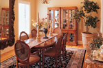 Colonial House Plan Dining Room Photo 01 - 020S-0001 | House Plans and More