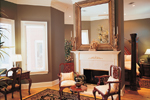 Colonial Floor Plan Fireplace Photo 01 - 020S-0001 | House Plans and More