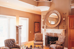 Southern Plantation Plan Fireplace Photo 02 - 020S-0001 | House Plans and More