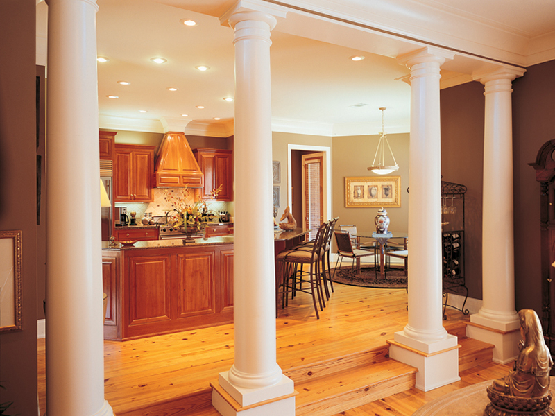 Greek Revival Home Plan Kitchen Photo 01 020S-0001