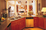 Colonial Floor Plan Kitchen Photo 02 - 020S-0001 | House Plans and More