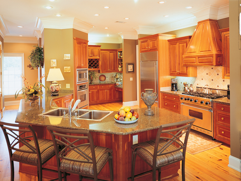 Traditional House Plan Kitchen Photo 03 020S-0001