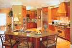 Greek Revival Home Plan Kitchen Photo 03 - 020S-0001 | House Plans and More