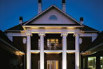 Greek Revival House Plan Rear Photo 01 - 020S-0001 | House Plans and More