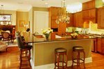 Colonial Floor Plan Kitchen Photo 01 - 020S-0002 | House Plans and More